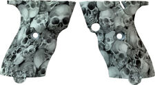 HI POINT C9/CF380 TEXTURED GRIPS--SKULL PATTERN--FACTORY OEM. FREE SHIPPING