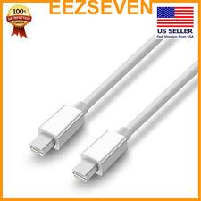 Mini DisplayPort DP to Mini DisplayPort DP Cable Thunderbolt to Thunderbolt 6ft