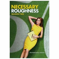 Necessary Roughness: Season 2 Two (DVD, 2013, 4-Disc Set) NEW Region 1 Sealed!!