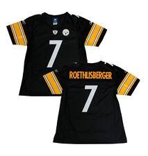 Ben Roethlisberger Steelers Women's Black Premier Reebok Jersey - MEDIUM