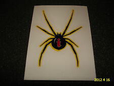 1 Authentic Intense Spider jaune Bicyclette Cadre Sticker/Autocollant/aufkleber