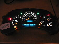 03  04 05 GMC SIERRA .SPEEDOMETER DASH  CLUSTER  REMAN      MILEAGE SET