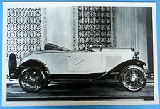 "12 By 18"" Black & White Picture 1932 Chevrolet Roadster Top Down"