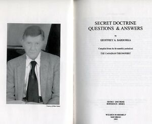 hb Barborka, SECRET DOCTRINE Questions Answers theosophy occult, Blavatsky ref.