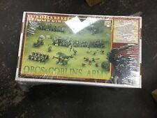 Warhammer Fantasy Orcs & Goblins Army (Sealed, OOP)