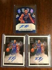 2018 19 BRUCE BROWN PANINI IMPECCABLE CROWN ROYALE AUTO RC LOT /49 /99 PISTONS