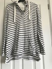 Fat Face Towelling Hoodie Size 12