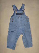 Salopette en jeans bleu SNOOPY bébé garçon 12 Mois - TBE