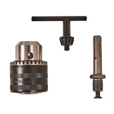 Amtech Professional 3pc Drill Chuck Set SDS Adaptor Arbor
