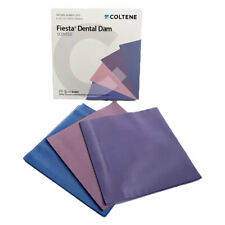 Coltene Hygenic Fiesta Natural Rubber Latex Dental Dam 6 X 6 Thin Pk36