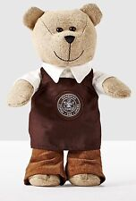 Starbucks Pike Place Store Bearista Boy Bear 2016 Limited Edition