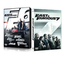 FAST AND FURIOUS COLLEZIONE COMPLETA 01 - 07 (7 DVD) Vin Diesel, Paul Walker