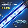 Aquarium 9-27LED-Lichtleiste Tauch Wasserdichte Clip Streifen Lampe Dekor US/DE