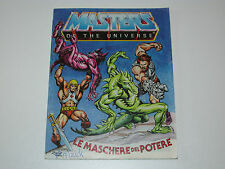 MOTU HE-MAN MASTERS OF THE UNIVERSE MINI COMIC 1983 MASKS OF POWER DE IT TAIWAN