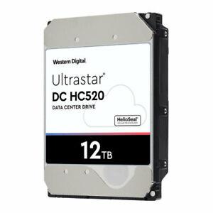 """12TB WD Ultrastar 3.5"""" SAS 12Gb/s HDD,  Hard Drive 7200rpm 256MB Cache  0F29530"""