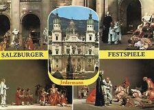 Alte Postkarte - Salzburger Festspiele Jedermann