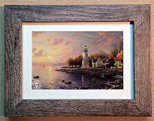 "Thomas Kinkade Framed Open Edition print ""Serenity Cove"" - New"