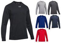 Under Armour Men's UA Hustle Fleece Crew Neck Sweater 1302159