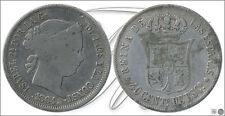 España - Monedas Isabel II- Año: 1864 - numero 00414 - 4 Reales 1864 Madrid Ag