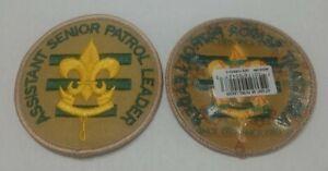 Official BSA Boy Scout Assistant Senior Patrol Leader 'Since 2010' Patch