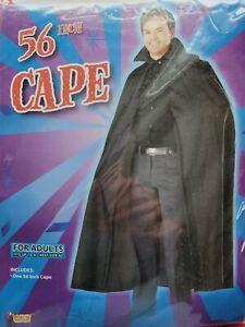 "Adult Black 56"" Cape"