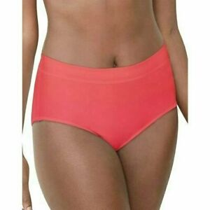 NWT Bali 2 Pack Comfort Revolution Pinky Peach Brief Panties Size L/7