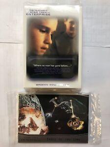 Star Trek Enterprise Archives Series 1 Mini Master Set Base & Chase (59 Cards)