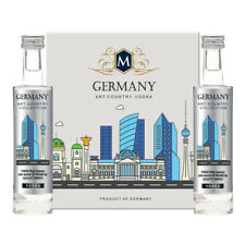 Tipo Country vodka GERMANY PLATINUM COLLECTION 2x5cl miniature GERMANY