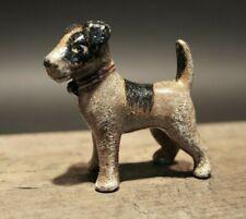 Antique Style Miniature Cast Iron Terrier Dog