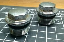 Two (2) HONDA CB450 FORK BOLT NUT     CB 450 CL450 CL 500 CB500