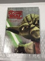 Star Wars The Clone Wars Complete Season 2 Two 4-DISC DVD SET