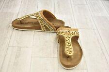 bbff1df56397 Sam Edelman Olivie Sandals - Women s Size 7 M - Natural Gold