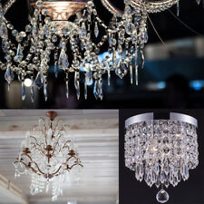 30X Acrylic Crystal Bead Hanging Wedding Chandelier Centerpiece Decoration WV220