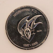 Melbourne F.C. Australia AFL CENTENARY COMMEMORATIVE MEDAL 1996 UNC (MG29)