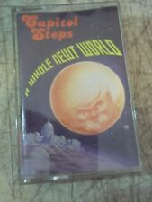 1995 CAPITAL STEPS A WHOLE NEWT WORLD RARE CASSETTE TAPE STRAUSS AND NEWPORT