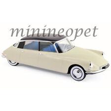 NOREV 181565 1956 CITROEN DS19 1955 SALON DE PARIS 1/18 MODEL CAR BEIGE