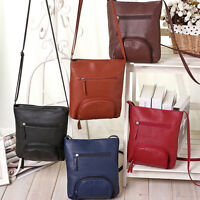 Womens Fashion Shoulder Bag Leather Satchel Messenger Bag Cross Body Handbags