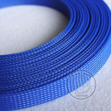 25mm New Tight Braided PET Expandable Sleeving Cable Wire Sheath (9 Color)