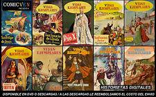 VIDAS EJEMPLARES  (NOVARO) 50 COMICS DIGITALES MEXICAN COMICS