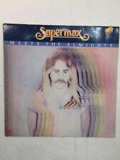 LP Supermax - Meets the almighty, '81 DE, NM/VG