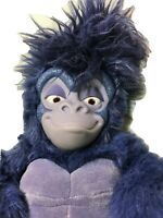 Disney Tarzan TERK Gorilla Mattel JUMBO Stuffed Plush Purple Ape Monkey BIG