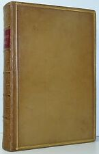 The Works Of OLIVER GOLDSMITH Spalding Poetry Plays FINE BINDING By NUTT C1861