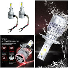 72W/Set H3 White LED Car Headlight Kit Instant Response Built in IC Circuit IP68