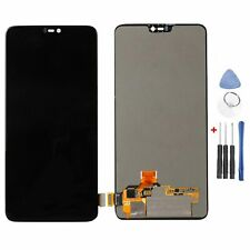 LCD AMOLED Display Touch Screen Digitizer Replacement For Oneplus 6 Black