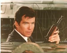 Pierce Brosnan In Person Signed Photo - James Bond - D688