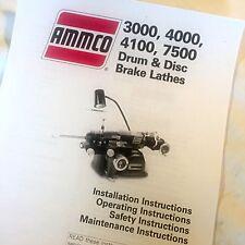 price of Ammco 4000 Brake Lathes Travelbon.us