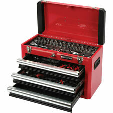 ToolPRO Tool Kit 3 Drawer Chest 131 Piece