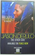 JASON DERULO 2013 THE OTHER SIDE promotional poster ~NEW~MINT~!