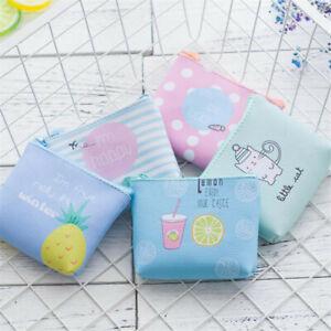 Women's Wallet Süß Frauen Geldbörse Kleiner PU-Leder-Tasche Münzbeutel Weibliche