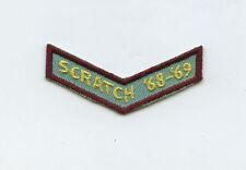 Scratch 1968 1969 68-69 Bowling Arm Patch